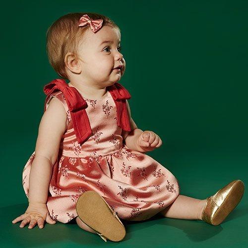 Hucklebones London Bodice Dress & Bloomers Milkshake (Jurk)-2