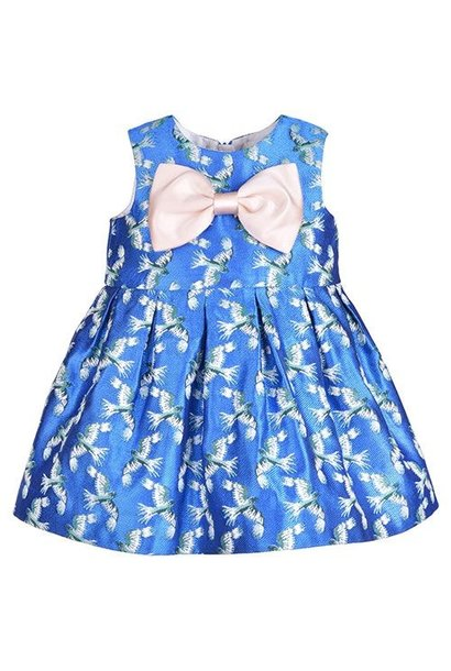 Hucklebones London Bodice Dress & Bloomers Jade Shimmer (Jurk)