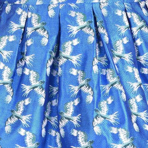Hucklebones London Bodice Dress & Bloomers Jade Shimmer (Jurk)-4