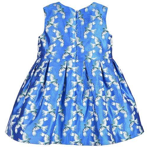 Hucklebones London Bodice Dress & Bloomers Jade Shimmer (Jurk)-5