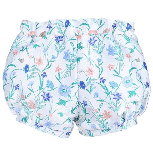 Hucklebones Bubble Shorts Wallpaper Floral Jacquard-3