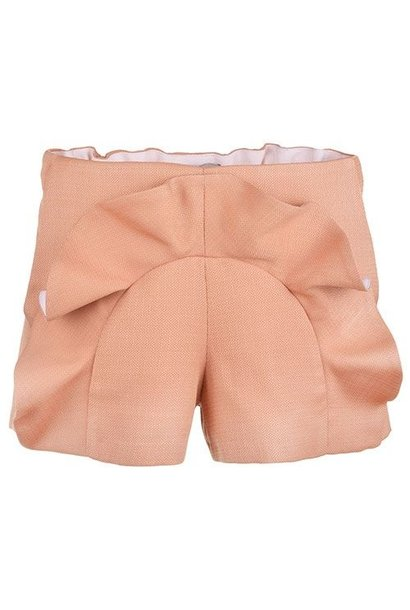 Hucklebones Ruffle Shorts Caramel