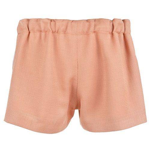 Hucklebones Ruffle Shorts Caramel-3