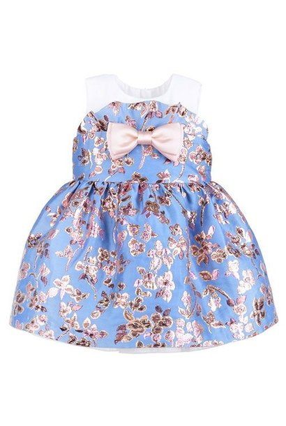 Hucklebones Ruffle Bodice Dress and Bloomers