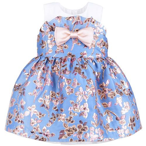 Hucklebones Ruffle Bodice Dress and Bloomers-1