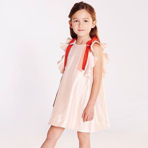 Hucklebones Ribbon Flutter Dress (Jurk)-2