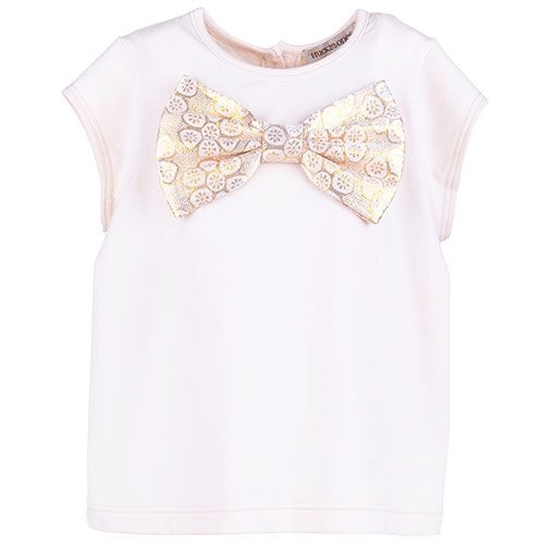 Hucklebones Bow Top Gilted Teacup (t-shirt)-1
