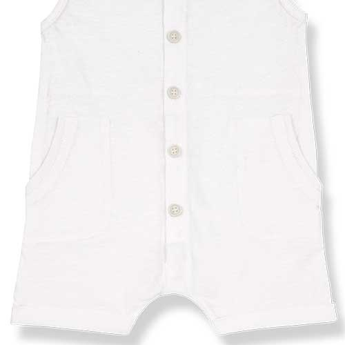 1+ in the family Troia Romber Slub Cotton Jersey off-white (Romper)-3