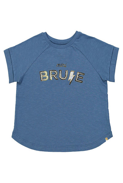 "Blune Paris ""Mini Brune"" Shirt Fille Stone (T-shirt)"