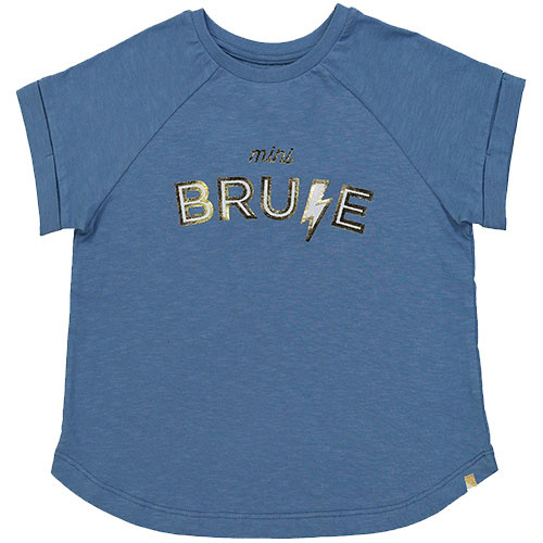 "Blune Paris ""Mini Brune"" Shirt Fille Stone (T-shirt)-1"