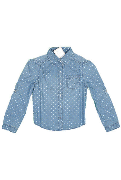 Blu & Blue New York Polka Dot Shirt (Blouse)
