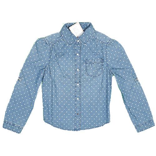 Blu & Blue New York Polka Dot Shirt (Blouse)-1