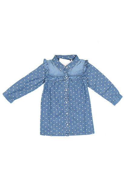 Blu & Blue New York Tara Denim Shirt (Blouse)
