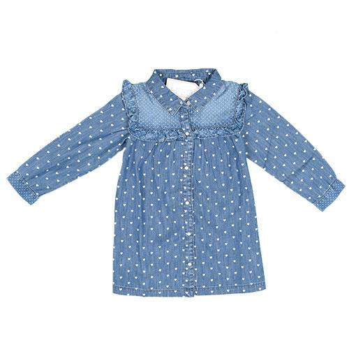 Blu & Blue New York Tara Denim Shirt (Blouse)-1