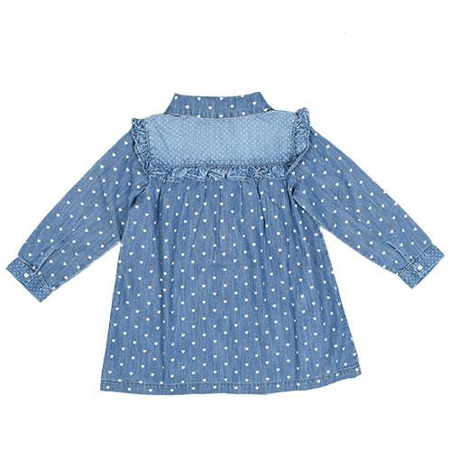 Blu & Blue New York Tara Denim Shirt (Blouse)-2