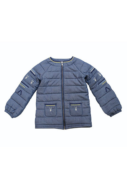Blu & Blue New York Bunny Quilted Jacket (Jas)