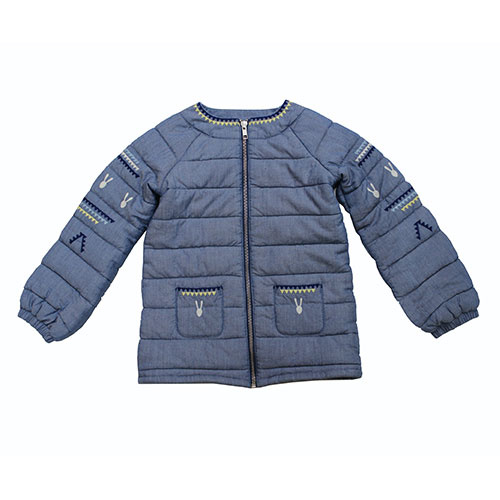 Blu & Blue New York Bunny Quilted Jacket (Jas)-1