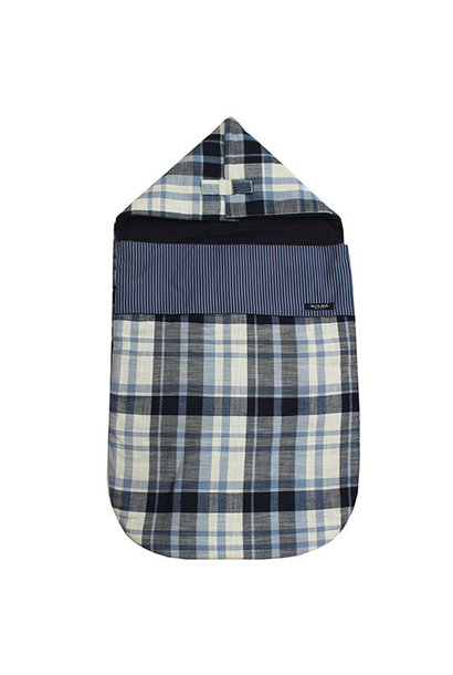 Blu & Blue New York Checkered Sleeping Bag (Slaapzak)