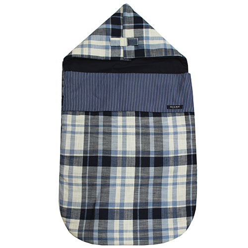 Blu & Blue New York Checkered Sleeping Bag (Slaapzak)-1