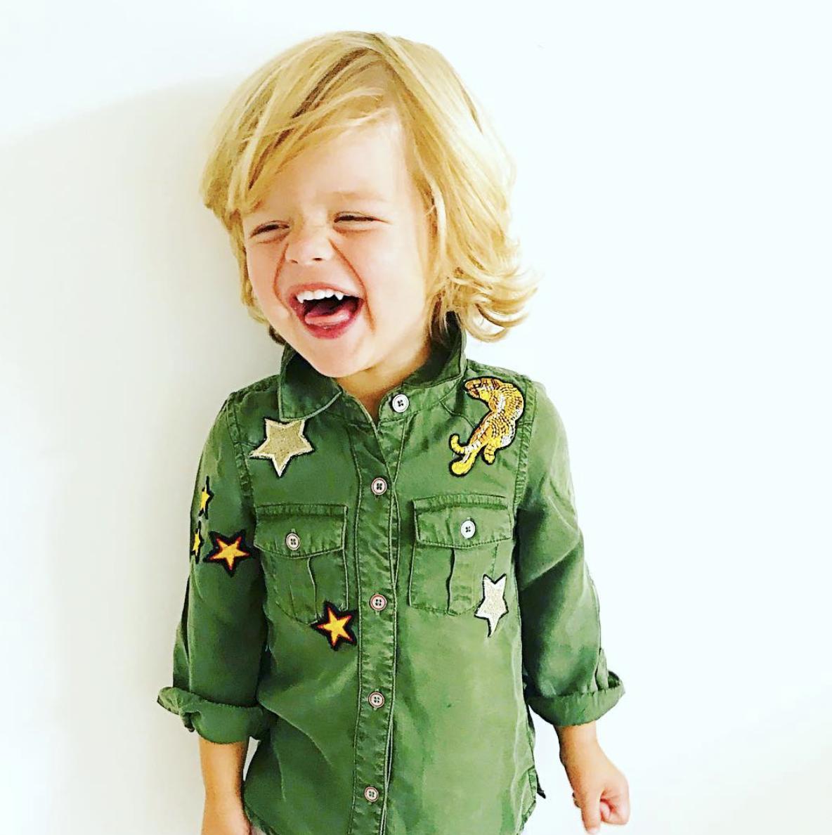 Blu & Blue New York Aiden Shirt Military Green (Blouse)-2