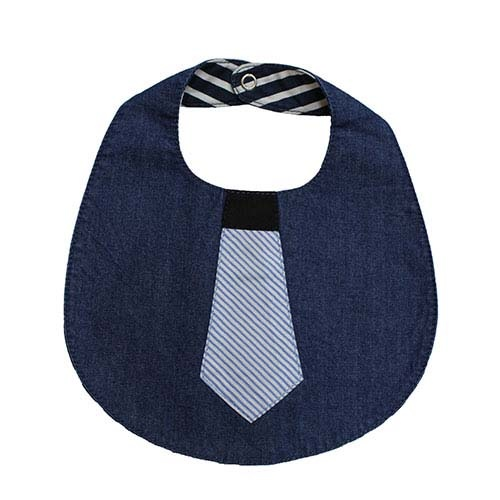 Blu & Blue New York Tie Bib (Slab)-1