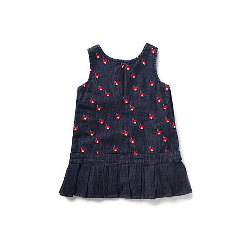 Blu & Blue New York Cute Whale Embroidery Denim Dress (Jurk)-3