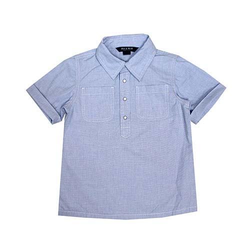 Blu & Blue New York Ryan Baby Blue Shirt-1