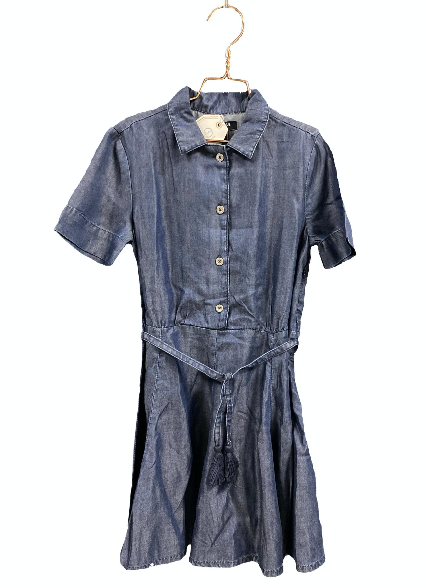 Blu & Blue New York Katie Fit and Flare Denim Dress (Jurk)-3