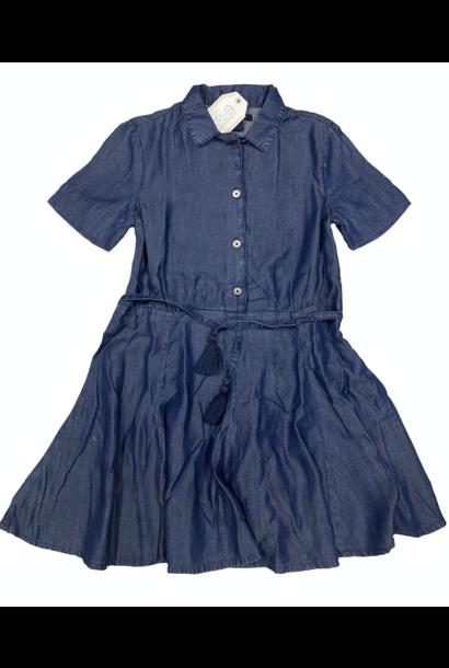Blu & Blue New York Katie Fit and Flare Denim Dress (Jurk)