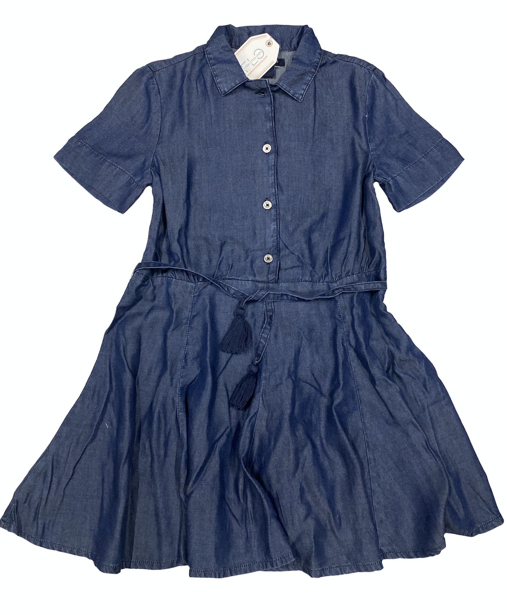 Blu & Blue New York Katie Fit and Flare Denim Dress (Jurk)-1