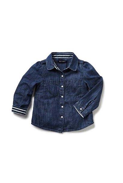 Blu & Blue New York Martha Denim Spijkerblouse (Shirt)