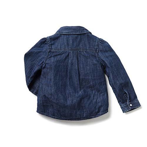 Blu & Blue New York Martha Denim Spijkerblouse (Shirt)-2