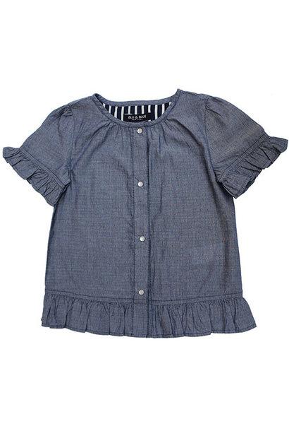 Blu & Blue New York Portofino Denim Top (Shirt)