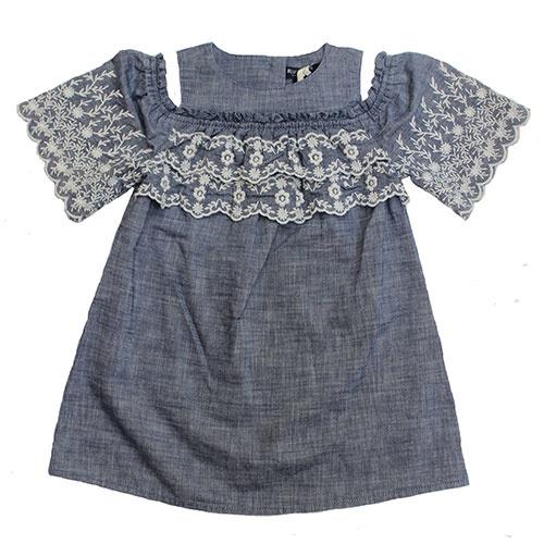 Blu & Blue New York Isla Denim Dress (Jurk)-1