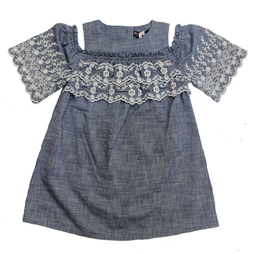 Blu & Blue New York Isla Denim Dress (Jurk)-2