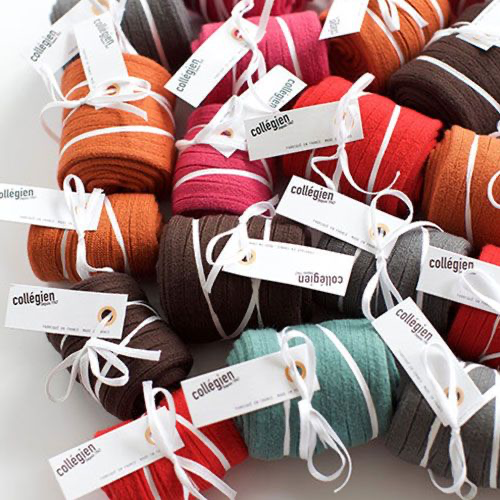Collegien Chaussettes courtes Orange Confite (sokken) oranje-2