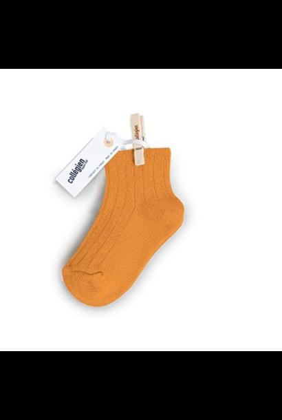 Collegien Chaussettes courtes 'Nectarine' (sokken) oranje