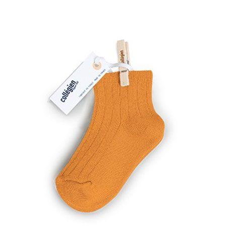 Collegien Chaussettes courtes 'Nectarine' (sokken) oranje-1