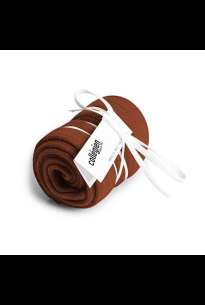 Collegien Chaussettes hautes 'Pain d'epice' (kniekousen) bruin