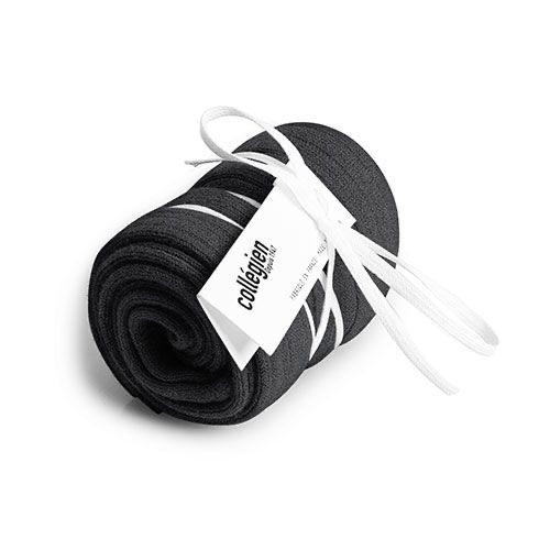 Collegien Chaussettes hautes 'Poivre' (kniekousen) donker grijs-1