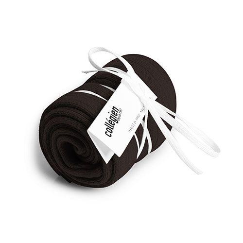 Collegien Chaussettes hautes 'Grain de Café' (kniekousen) donker bruin-2
