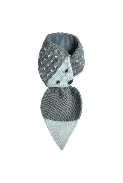 Hats Over Heels Hedgehog Scarf Grey (Sjaal)