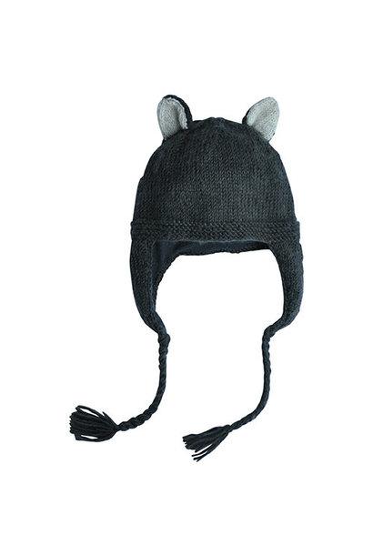 Hats Over Heels Skunk Hat Dark Grey (Muts)
