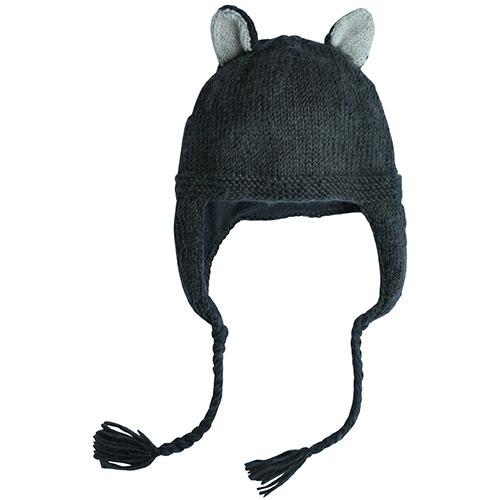 Hats Over Heels Skunk Hat Dark Grey (Muts)-1