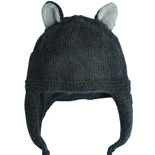 Hats Over Heels Skunk Hat Dark Grey (Muts)-2