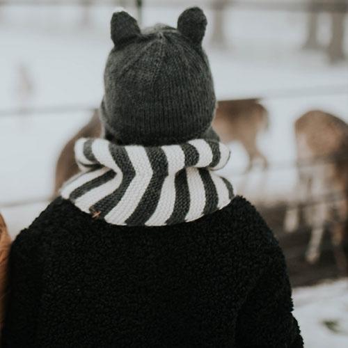 Hats Over Heels Skunk Hat Dark Grey (Muts)-5