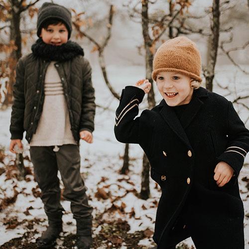Hats over Heels Hunter Hat Kids Dark Grey (Muts)-2