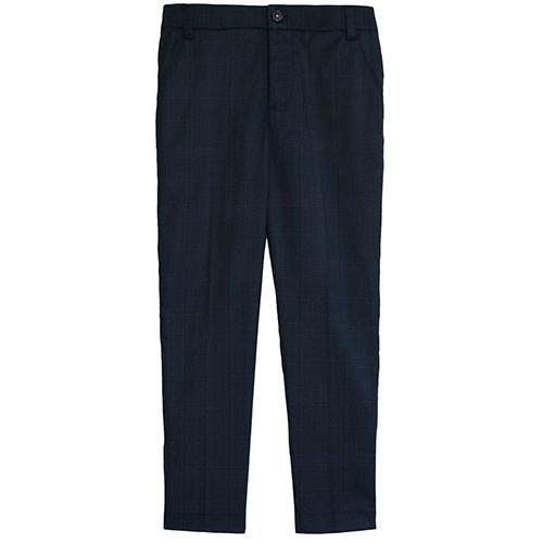 Wild & Gorgeous Rex Trousers Navy (Broek)-1