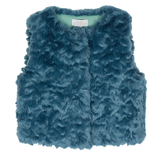 Wild & Gorgeous All Stars Gilet Teal Blue (Vest)-1