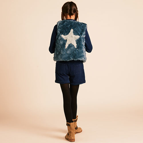 Wild & Gorgeous All Stars Gilet Teal Blue (Vest)-5